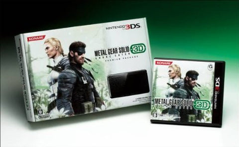 Image for Metal Gear Solid Snake Eater 3D Premium Package (Konami Style Limited Edition)