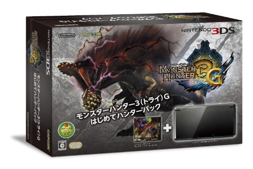Image 1 for Nintendo 3DS (Monster Hunter 3G Beginner Hunters Pack Black Edition)