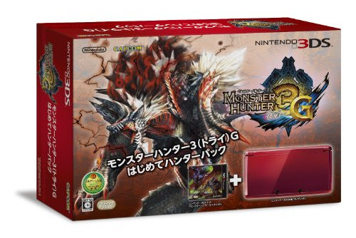 Image 1 for Nintendo 3DS (Monster Hunter 3G Beginner Hunters Pack Red Edition)