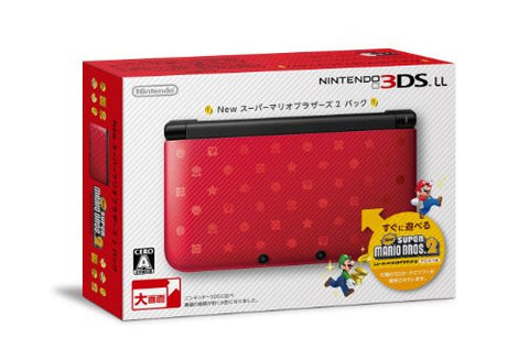Image for Nintendo 3DS LL (New Super Mario Bros. 2 Pack Limited Edition)