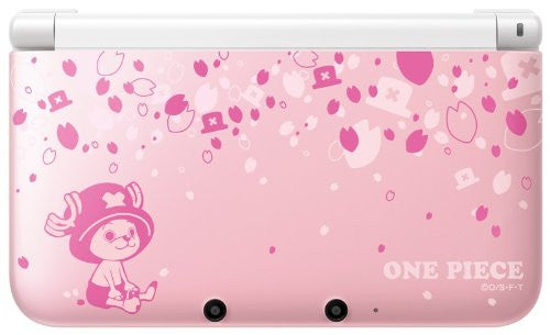 Image 1 for Nintendo 3DS LL - One Piece Unlimited World R Limited Adventure Pack (Chopper Pink ver.)