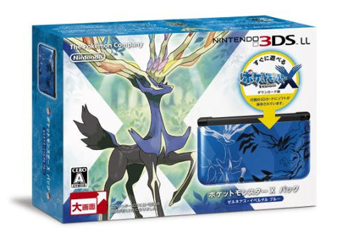 Image for Nintendo 3DS LL [Pokemon X Pack] (Xerneas - Yveltal Blue)