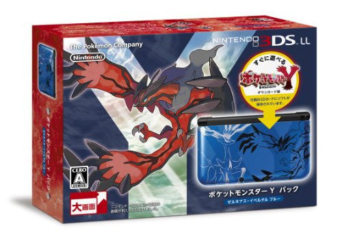 Image 1 for Nintendo 3DS LL [Pokemon Y Pack] (Xerneas - Yveltal Blue)
