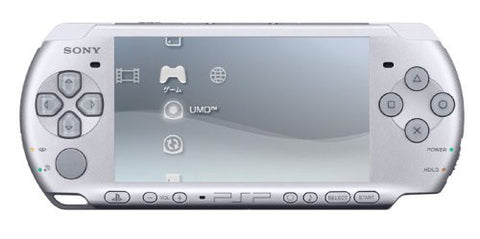 Image for PSP PlayStation Portable Slim & Lite - Mystic Silver Value Pack (PSP-3000KMS)
