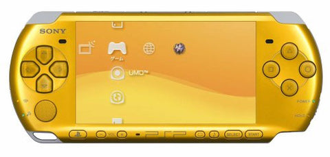 Image for PSP PlayStation Portable Slim & Lite - Bright Yellow Value Pack (PSPJ-30003)