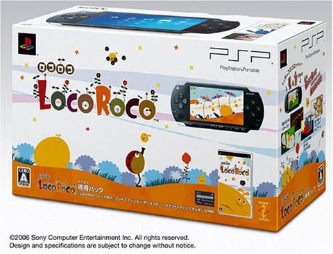 PSP PlayStation Portable LocoRoco Pack (black)
