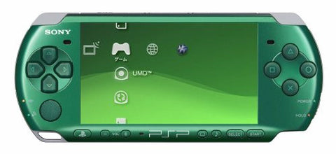 PSP PlayStation Portable Slim & Lite - Spirited Green Value Pack (PSPJ-30004)
