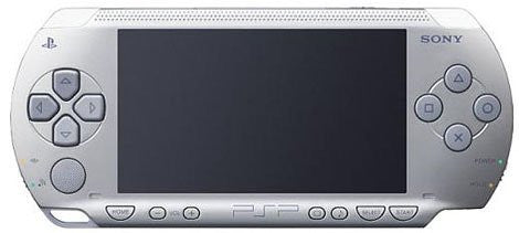 PSP PlayStation Portable - Silver (PSP-1000SV)