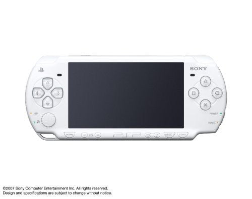 Image 1 for PSP PlayStation Portable Slim & Lite - Ceramic White (PSP-2000CW)