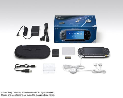 Image 1 for PSP PlayStation Portable Giga Pack (PSP-1000G1)