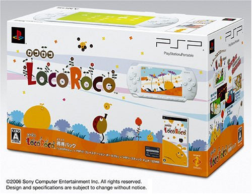Image 1 for PSP PlayStation Portable LocoRoco Pack (ceramic white)