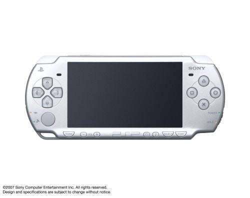 Image 1 for PSP PlayStation Portable Slim & Lite - Ice Silver (PSP-2000IS)