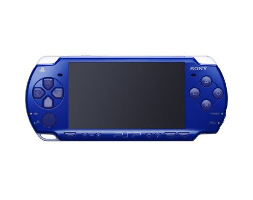 Image 1 for PSP PlayStation Portable Slim & Lite - Metallic Blue Value Pack (PSPJ-20003)