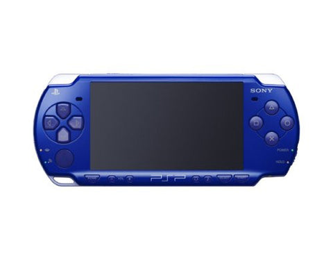 Image for PSP PlayStation Portable Slim & Lite - Metallic Blue Value Pack (PSPJ-20003)