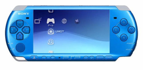 Image for PSP PlayStation Portable Slim & Lite - Vibrant Blue Value Pack (PSPJ-30002)