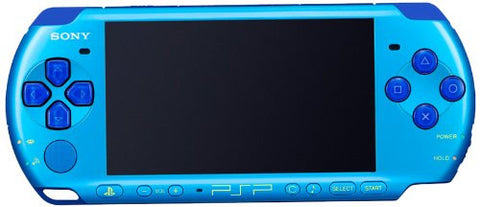 Image for PSP PlayStation Portable Slim & Lite - Sky Blue / Marine Blue [Value Pack (PSPJ-30027)]