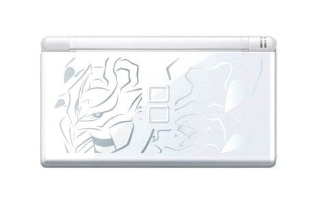Image 1 for Nintendo DS Lite (Pokemon Daisuki Club Giratina Special Edition - Crystal White) - 110V
