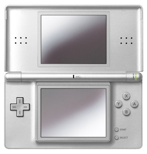 Image 1 for Nintendo DS Lite (Gloss Silver) - 110V