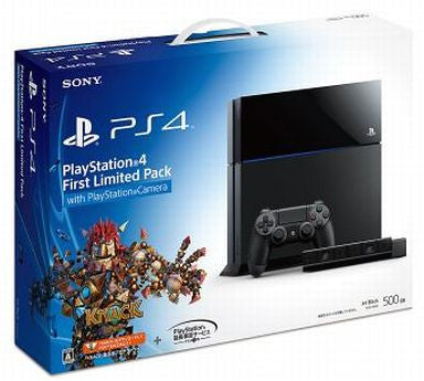 Image 1 for PlayStation 4 First Limited Pack with Playstation Camera and Knack DLC Product Code CUHJ-10001