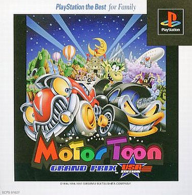 Image 1 for Motor Toon Grand Prix: USA Edition (PlayStation the Best)