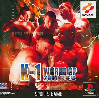 Image 1 for K-1 World GP 2001 Kaimakuban