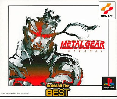 Image for Metal Gear Solid Integral (Konami the Best)