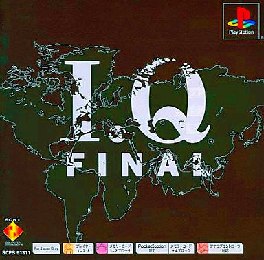 Image 1 for I.Q. Final (PSone Books)