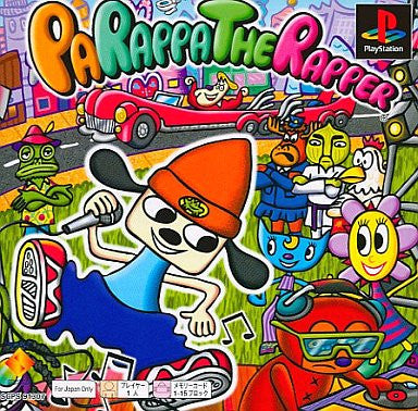 Image 1 for Parappa The Rapper (PSOne Books)