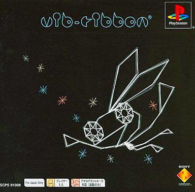 Image 1 for Vib-Ribbon (PSone Books)