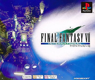 Image for Final Fantasy VII International (PSOne Books)