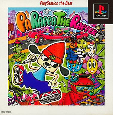 Image 1 for PaRappa The Rapper (PlayStation the Best)