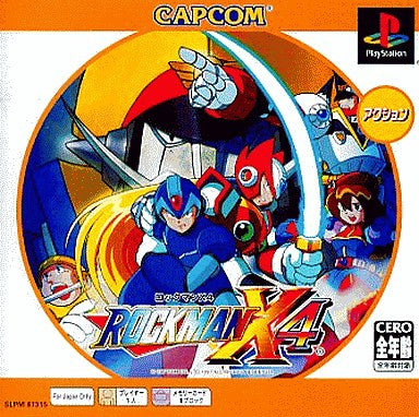 Image 1 for RockMan X4 (PSOne Books)