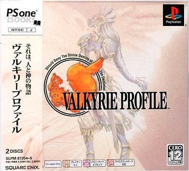 Image 1 for Valkyrie Profile (PSOne Books)