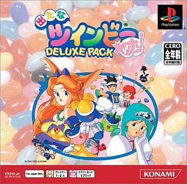 Image 1 for Detana TwinBee Yahoo! Deluxe Pack (PSOne Books)