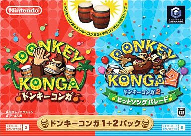 Image 1 for Donkey Konga 1+2 Bundle Pack