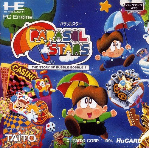 Image 1 for Parasol Stars: The Story of Bubble Bobble III