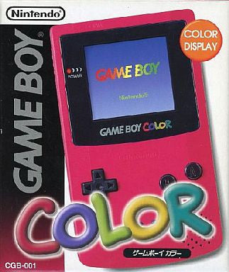 Gameboy Color Red