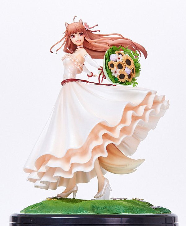 Image 1 for Ookami to Koushinryou - Holo - 1/8 - Wedding Dress ver.
