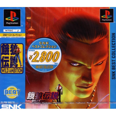 Image for Fatal Fury: Wild Ambition (PlayStation the Best)