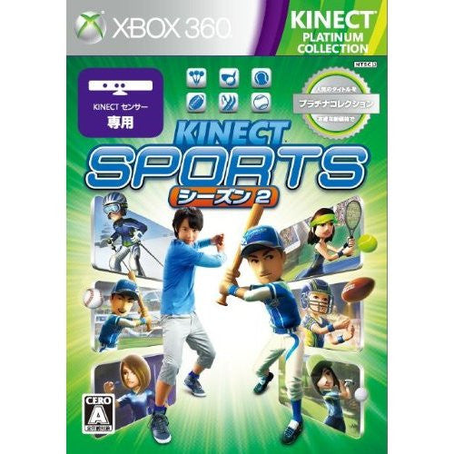 Image 1 for Kinect Sports Season Two (Platinum Collection)