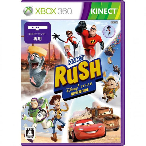 Image for Kinect Rush: A Disney-Pixar Adventure