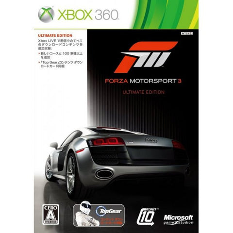 Image for Forza Motorsport 3 (Ultimate Edition)