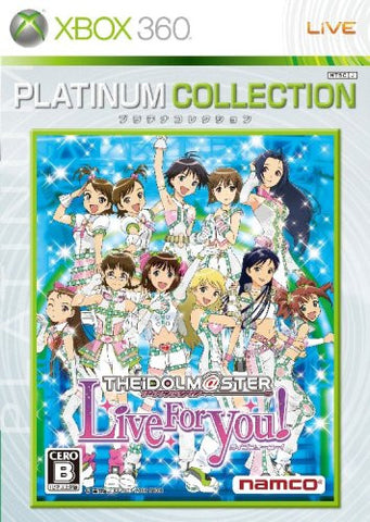 The Idolm@ster: Live for You! (Platinum Collection)