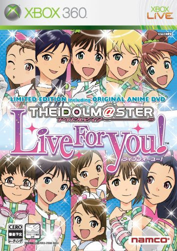 Image 1 for The Idolm@ster: Live for You! [Limited Edition]