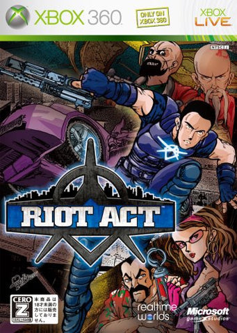 Image for Riot Act / Crackdown