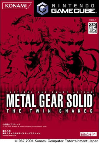 Image for Metal Gear Solid: The Twin Snakes