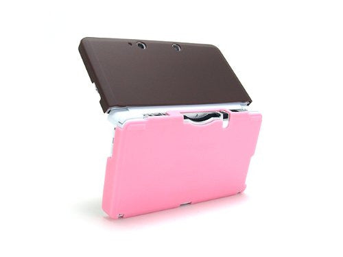 Image 4 for Palette Rubber Hardcover for 3DS (Chocolate Pink)