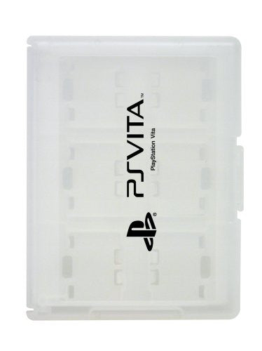 Image 1 for Card Case 12 for PlayStation Vita (White)