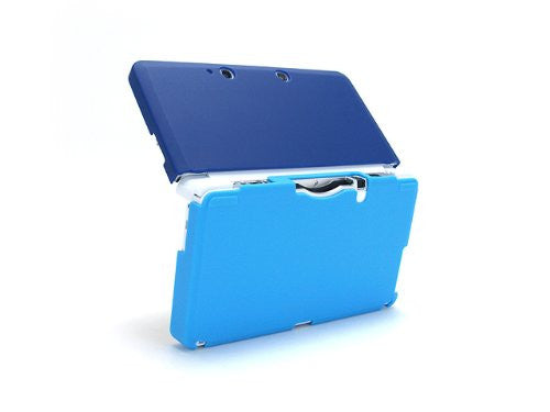 Image 4 for Palette Rubber Hardcover for 3DS (Sapphire Blue)