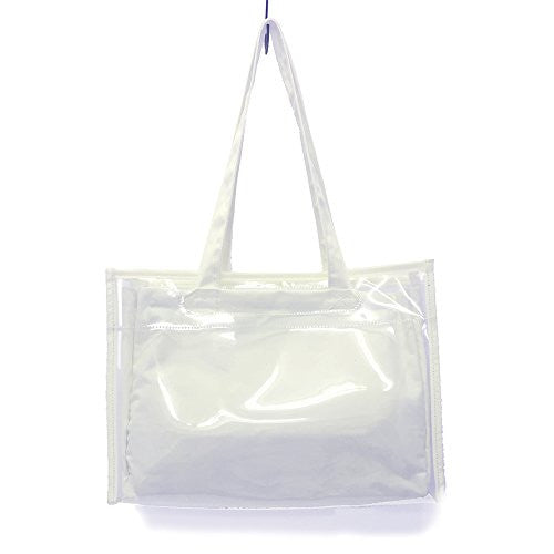 Image 1 for Ita Bag - Clear Tote Bag - White